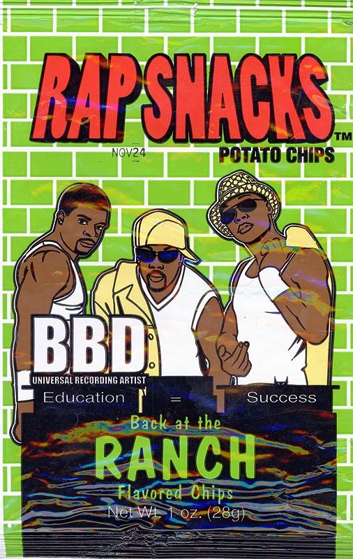 Rap Snacks: You Got BBD (Chips) All On Your Bedroom Wall | Yameen