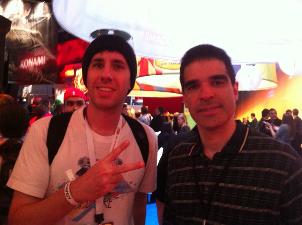 Yameen & Ed Boon of Mortal Kombat fame - E3, 2011