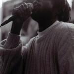 Tariq on the mic, Roots Crew - 1995