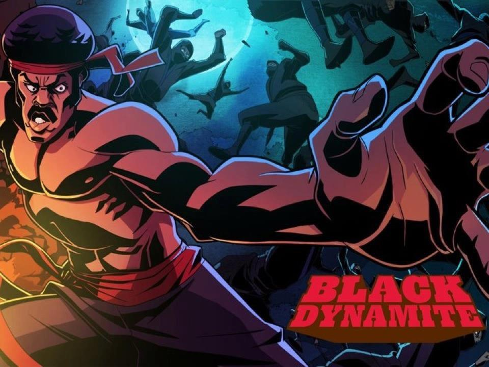 Jamie Vickers, Black Dynamite Cartoon Anime