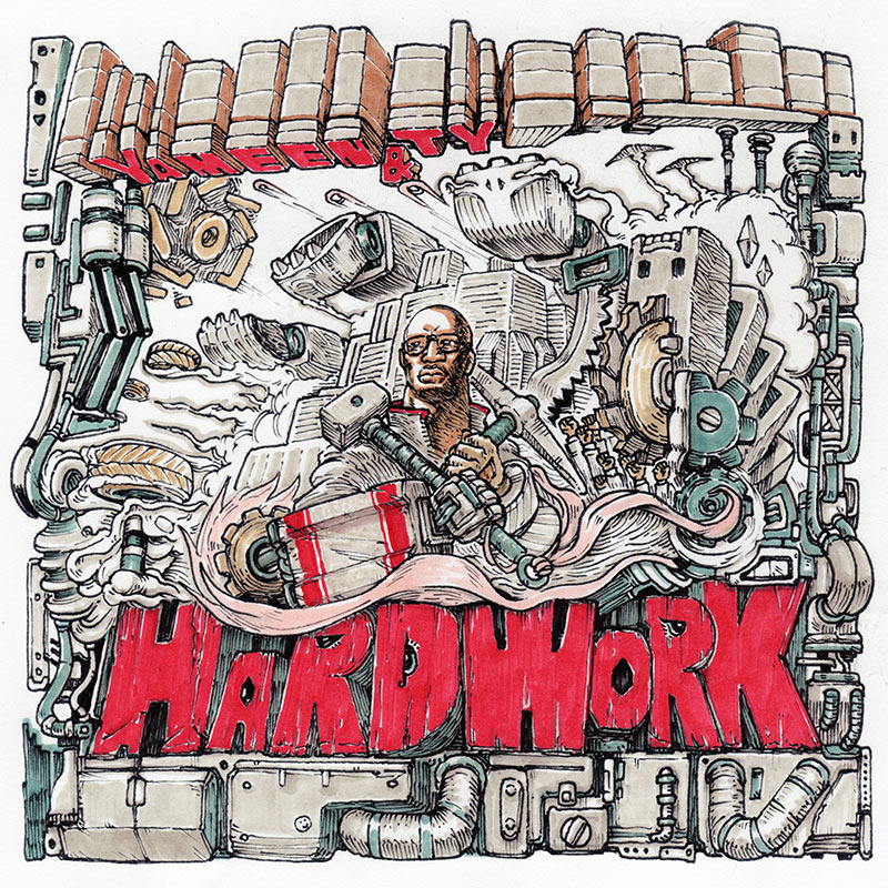 "Yameen x Ty - ""Hard Work"" + DJ Enki Remix - Single"