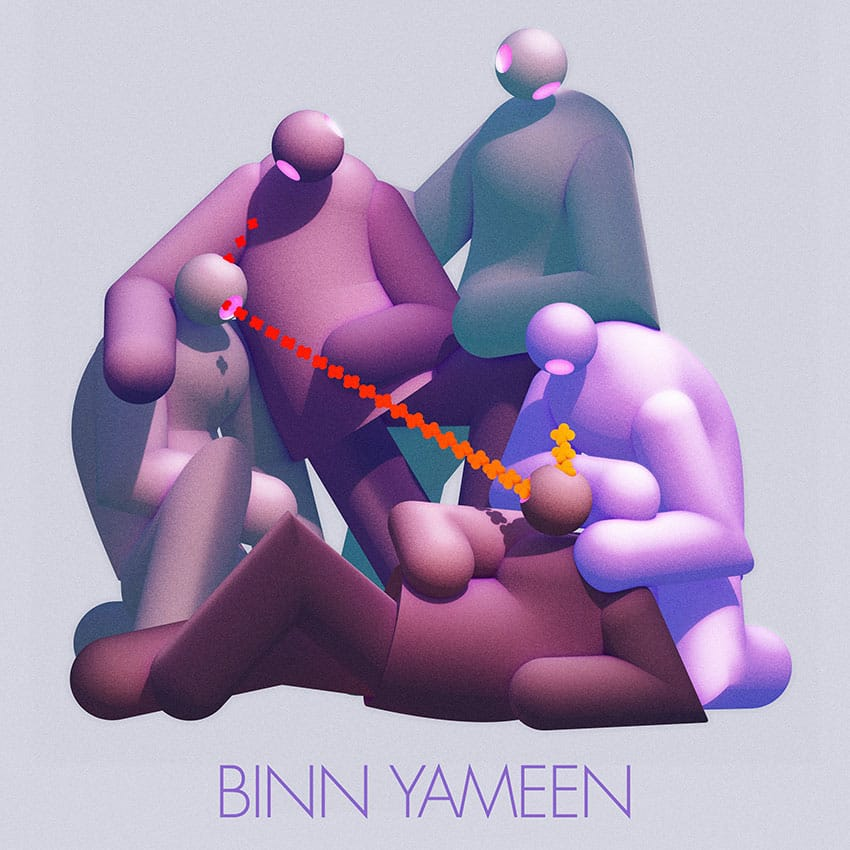 Binn Yameen EP Artwork