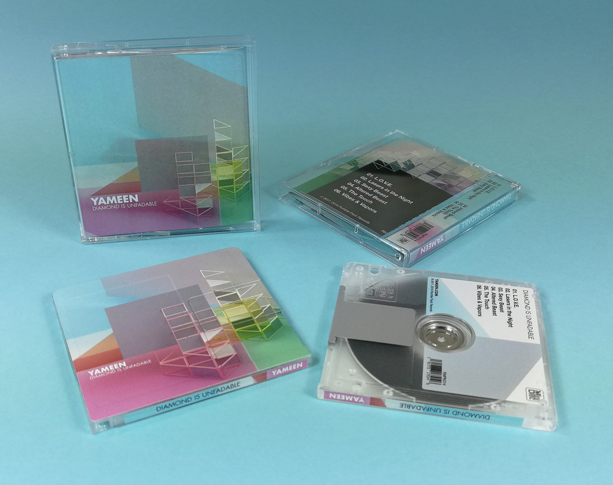 Yameen's Diamond is Unfadable album on limited edition MiniDisc