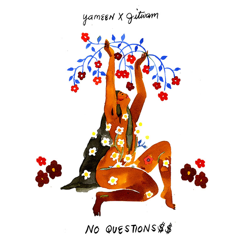 NO QUESTIONS$$ featuring Jitwam album cover