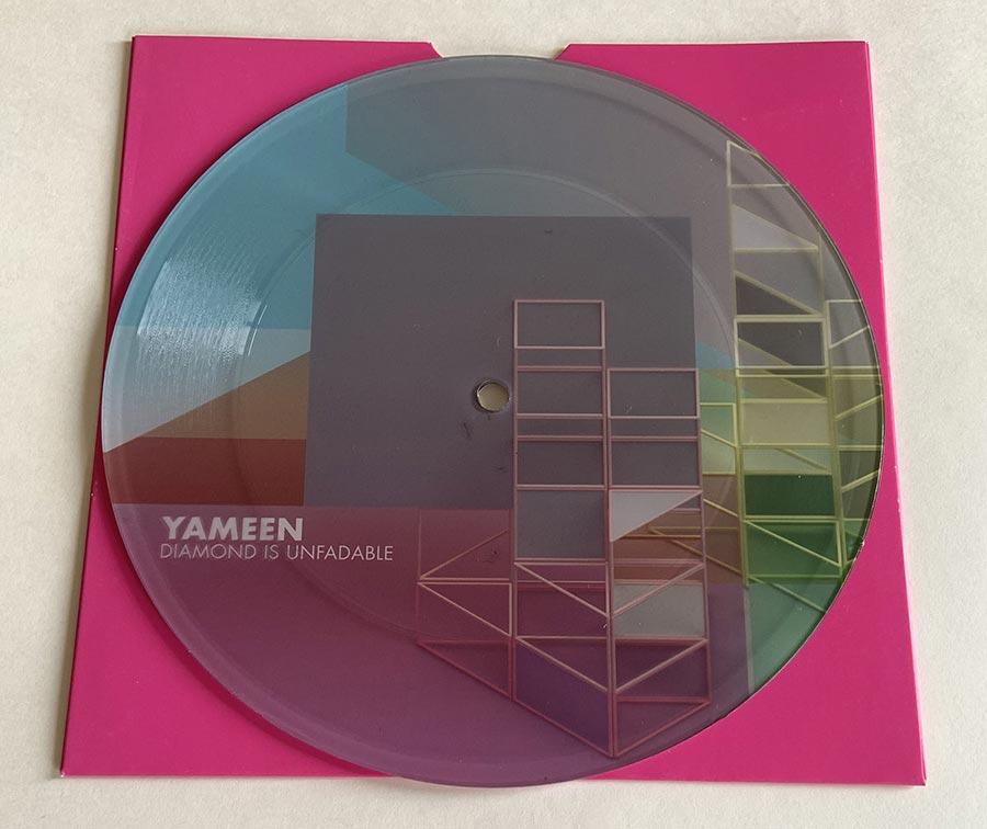 Yameen 7-Inch Vinyl, LOVE - Pandayoghurt