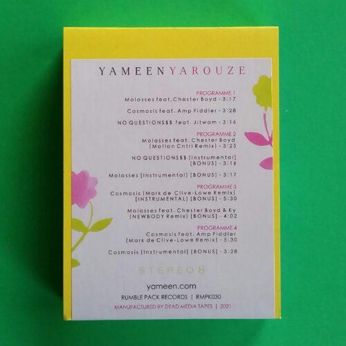 "Yameen, ""Yarouze"" 8-track Tape Cassette"